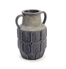 ADV Dark Grey Stained Vase