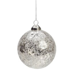 ADV Christmas Glass Ball Ornament