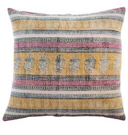 Indaba Stonewashed Woven Toss Pillow