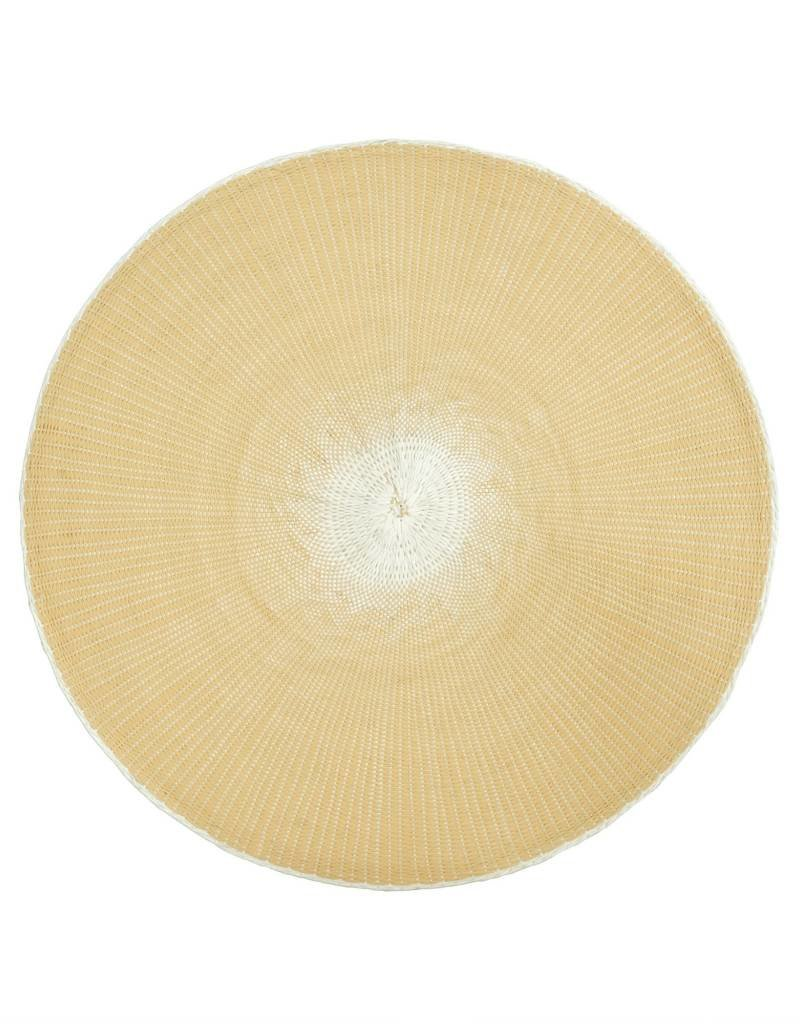 Indaba Willa Placemat, Off White