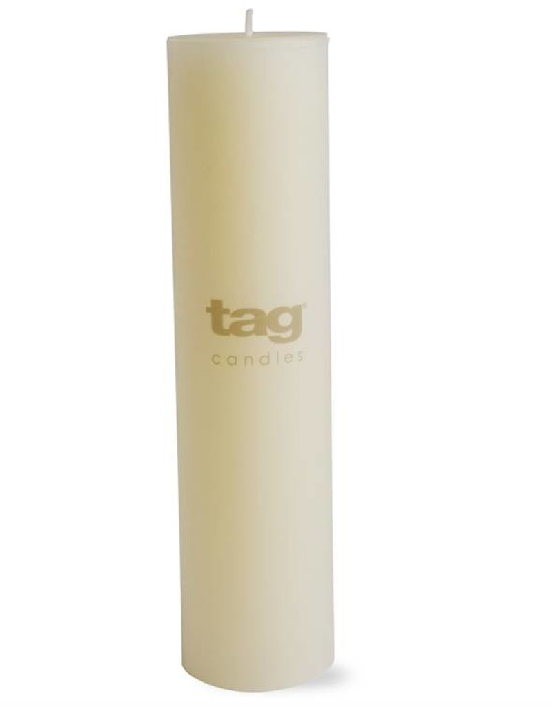 Tag ltd 2x8 Ivory Chapel Pillar Candle
