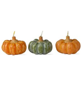 Tag ltd Heirloom Pumpkin Candle Set of 3