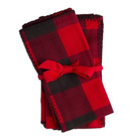 Tag ltd Buffalo Check Napkin Set of 4