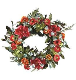 Candym Peony/Fern Wreath