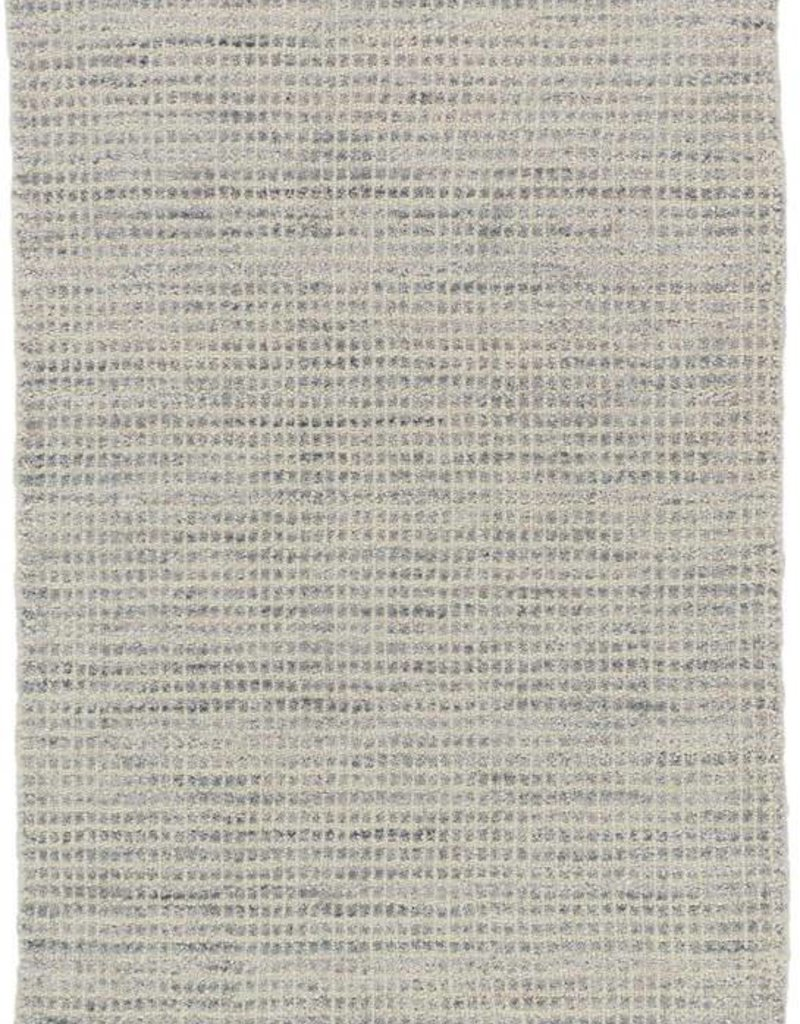 Dash & Albert Homer Grey Wool/Viscose Rug, 8x10