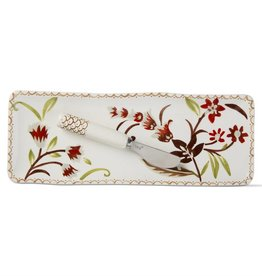 Tag ltd Autumn Bloom Small Platter & Spreader