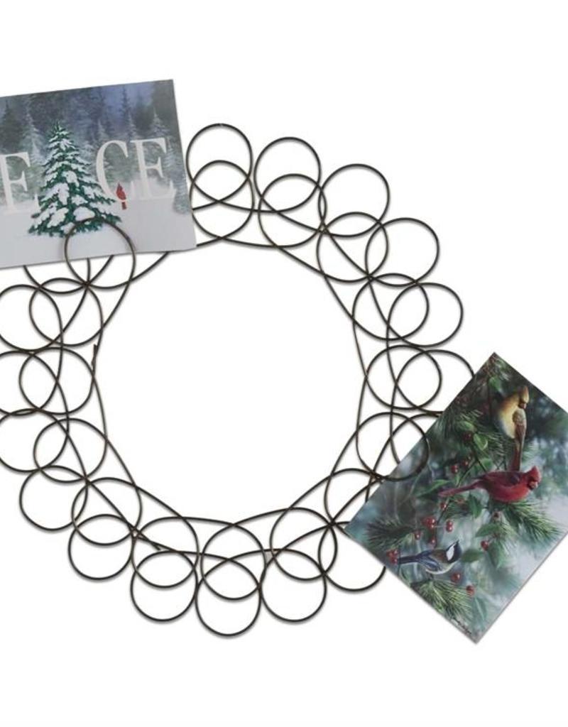 Tag ltd Spiral Wreath Greeting Card Holder