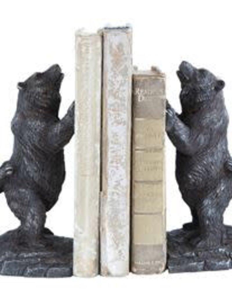 Creative Co-op Bear Bookends, Set of 2