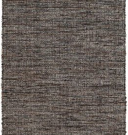 Dash & Albert Grant Black/Brown Woven Cotton Rug