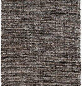 Dash & Albert Grant Black/Brown Woven Cotton Rug