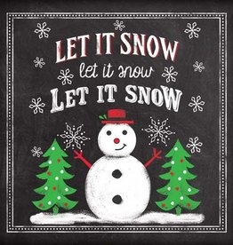 Paper Products Design Let it Snow Napkins