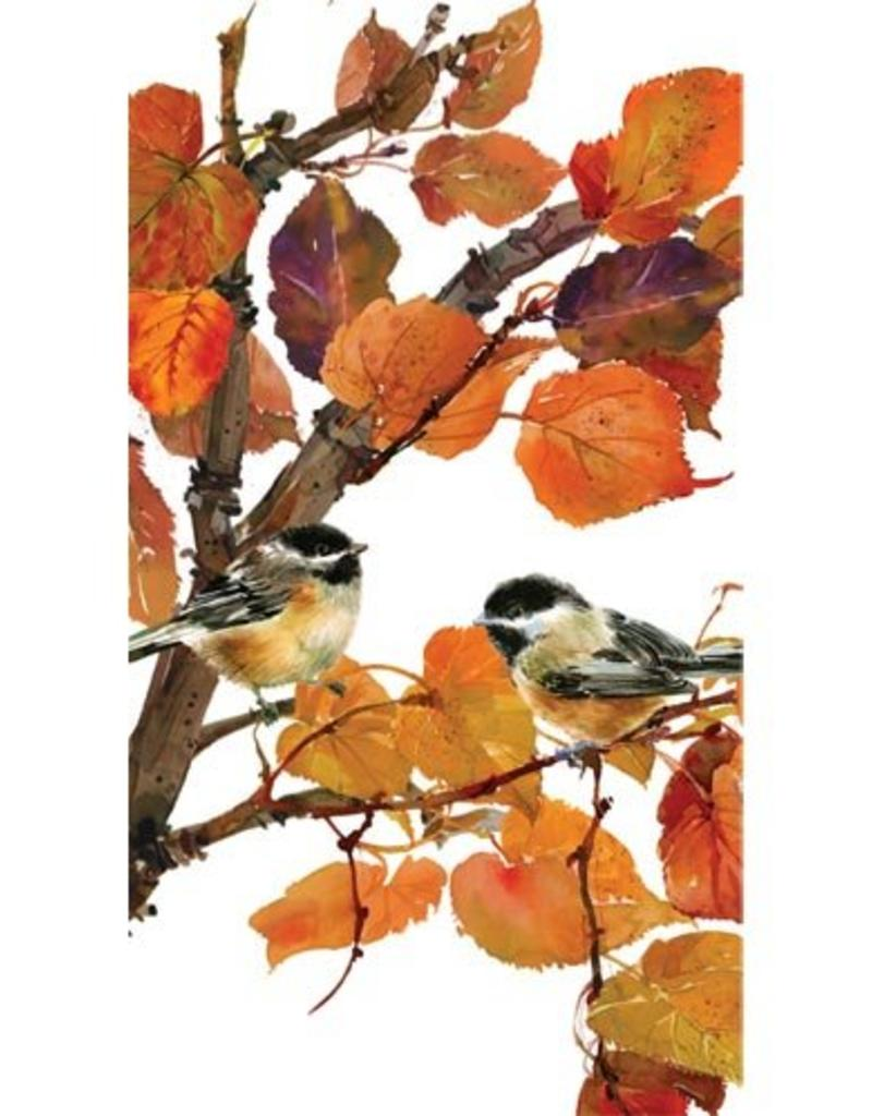 Paper Products Design Autumn Birds, Guest