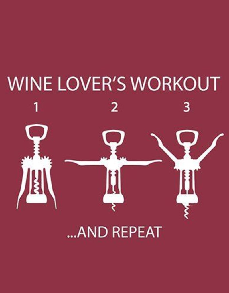 Paper Products Design Wine Lover's Workout Serviettes