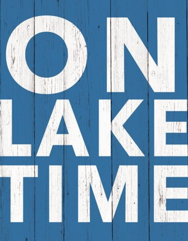 Paper Products Design On Lake Time Beverage Serviettes
