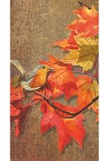 Paper Products Design Crimson Leaves, Guest
