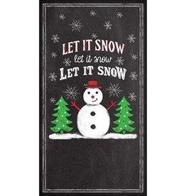 Paper Products Design Let It Snow, Guest Towel
