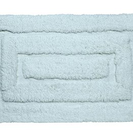 Harman Hotel Plush Bath Mat Aqua