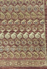 Woven Reflections Mir Red Wool Rug 5 x 7