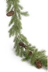 The Pine Centre Garland Pinecone 6'