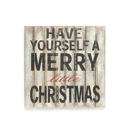 The Pine Centre Merry Christmas Wood Wall Art