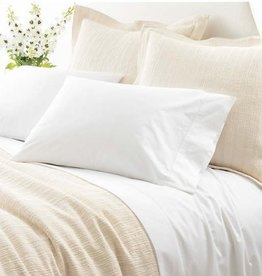 Pine Cone Hill King Sheet Set - Classic White Hemstitch