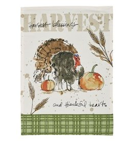 Park Design Harvest Turkey Printed Dishtowel