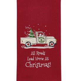 Park Design Home at Christmas Dishtowel