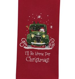 Park Design I'll Be Home for Christmas Dishtowel