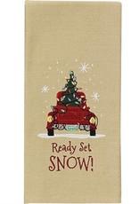 Park Design Ready Set Snow Dishtowel
