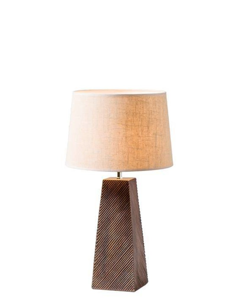 Torre & Tagus Etched Resin Table Lamp