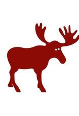 Old Country Design Moose Red - Paviot Cocktail Serviette