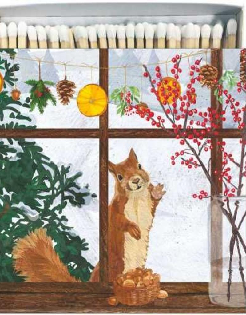Paper Products Design Hearth Time Squirrel Matches