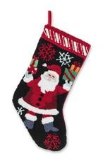 Abbott Holly Santa Stocking