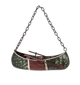 Abbott Canoe & Paddle Ornament