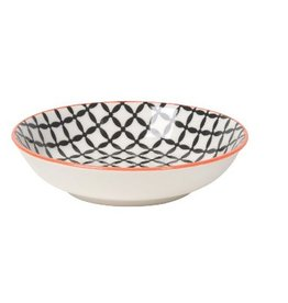 Danica Black Lattice Dip Bowl