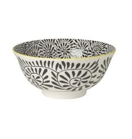Danica Black Stamped Bowl