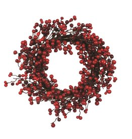 Candym Red Berry Wreath