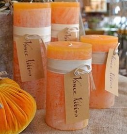 Vance Kitira Timber Candle, 3.25x3, Pumpkin