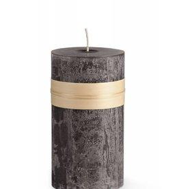 "Vance Kitira Timber Candle, 3.25x6"" Charcoal"