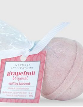 Natural Inspirations Natural Inspirations Bath Bomb Grapefruit 6oz.
