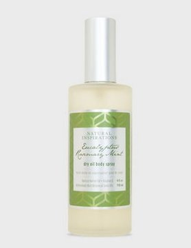 Natural Inspirations Natural Inspirations Body Oil Spray-Eucalyptus 491000