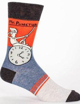 BLUE Q Blue Q Mr. Punctual Men's Socks SW827