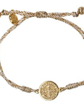 My Saint My Hero My Saint My Hero Serenity Blessing Bracelet Metallic Gold/Gold B-SER-MT-114