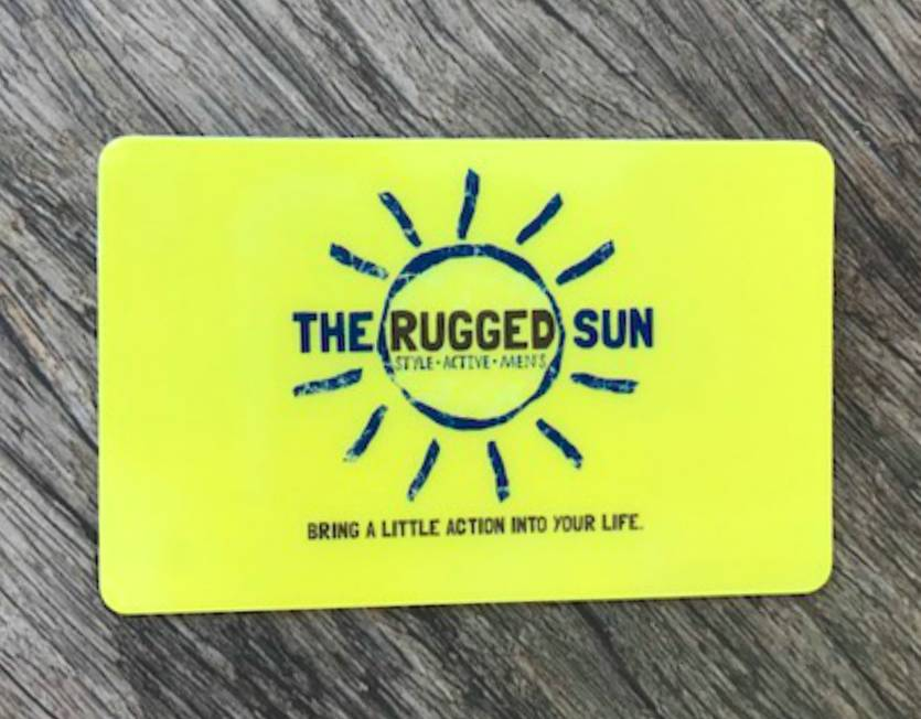 The Rugged Sun Gift Card