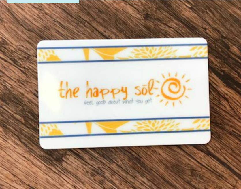 The Happy Sol Gift Card