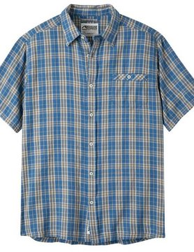 Mountain Khaki Mountain Khaki Men's Shoreline S/S Blue Plaid 370