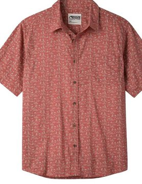 Mountain Khaki Mountain Khaki Men's Outdoor S/S Red 197
