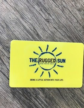 HAPPY SOL The Rugged Sun Gift Card