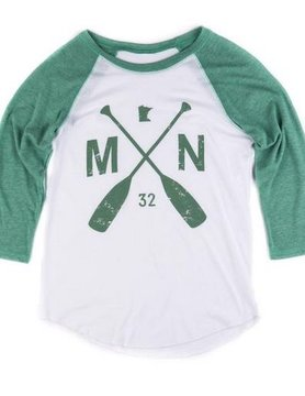 Sota Clothing Sota Theo Raglan Tri Kelly Green