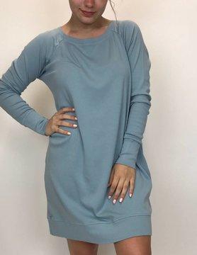 PJ Harlow PJ Harlow Emily L/S Sleep Shirt Morning Blue
